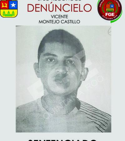 Sentencian a Vicente Montejo Castillo a 25 años de prisión por homicidio de Hermelinda Cachón