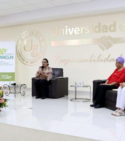A través de experiencias contadas por propia voz de pioneros y fundadores, se realizó el ciclo de charlas 'Crónica de una Ciudad Llamada Cancún'