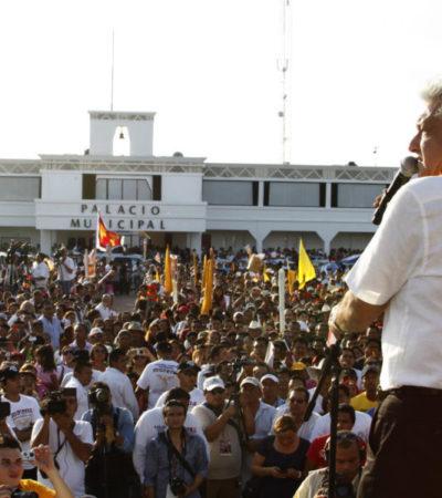 AMLO estará en Playa del Carmen el próximo 4 de mayo