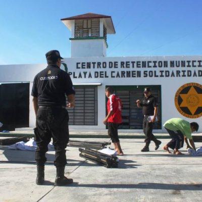 Salvo la de Cozumel, las cárceles de Quintana Roo salieron reprobadas en hacinamiento y reinserción social según Cdheqroo