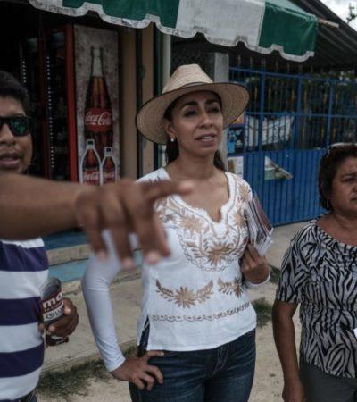 Ofrece Marybel Villegas sacar del olvido a Bacalar