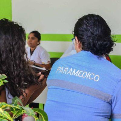 Los 120 abuelitos de la Casa del Adulto Mayor 'Nohoch Uinic' participan en jornada médica