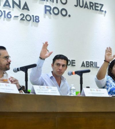 APRUEBA CABILDO ACUERDOS: Los cuerpos policiacos de Benito Juárez tendrán más profesionalización