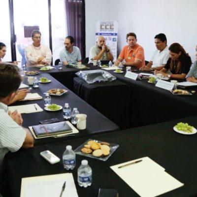Se reúne Alcaldesa con líderes empresariales para trabajar en pro de los solidarenses