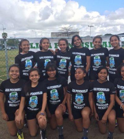 Selecciones de Tocho Bandera competirán en torneo de Chiapas; el conjunto femenil refrendará título de campéon