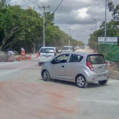 Queda abierto, otra vez, el acceso al Casco Antiguo de Puerto Morelos