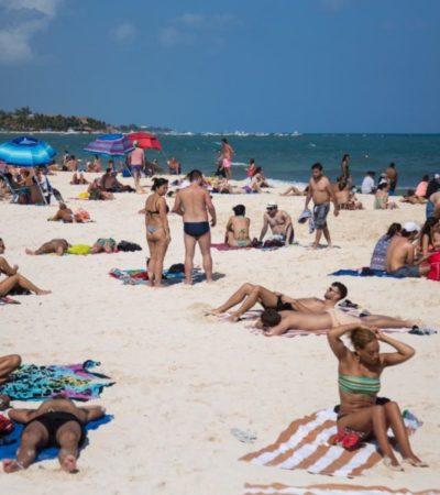 Saldo Blanco en Playa del Carmen durante Semana Santa