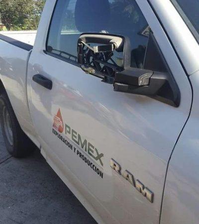 Petrolero de Pemex atropella y mata a niña en Tabasco