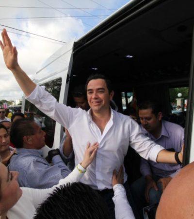 SE REGISTRA 'CHANITO' E IDENTIFICA A SUS 'RIVALES': La corrupción, la inseguridad y la sangre en las calles son los enemigos a vencer en Cancún, dice