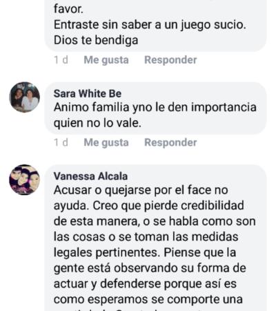 Julio 'Taquito', el candidato independiente de OPB, identifica a acosador y lo denuncia en su Facebook