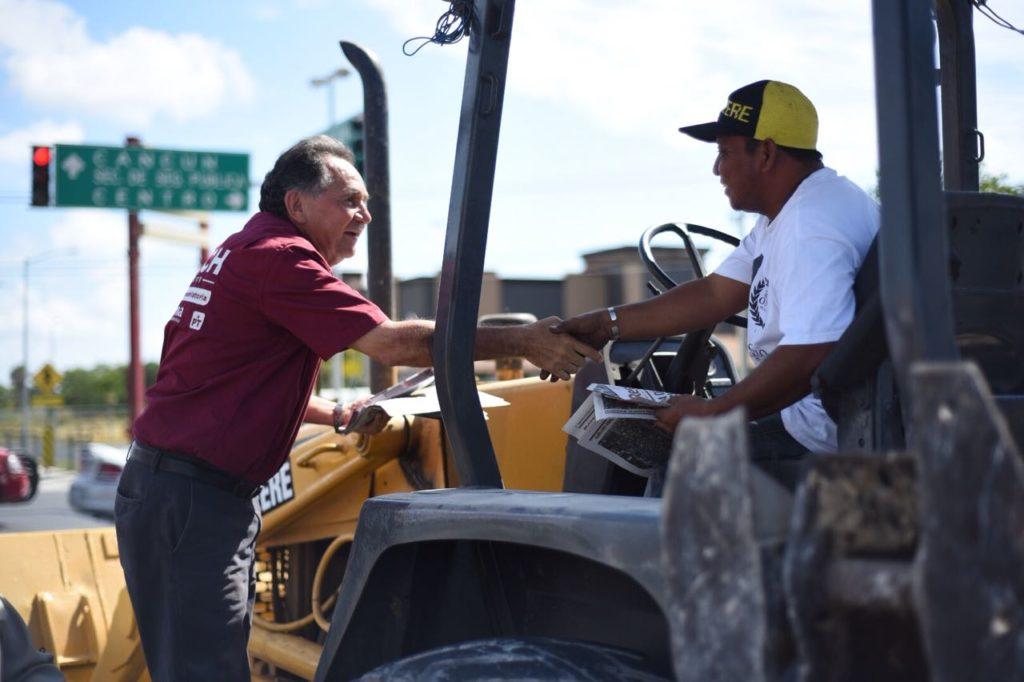 Sin sueldos enormes y menos deuda se mejorará la gestión pública en Quintana Roo: José Luis Pech