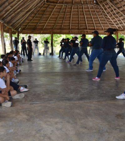 Niños conocen la sede del Centro de Comando, Control, Comunicación y Cómputo en Chetumal