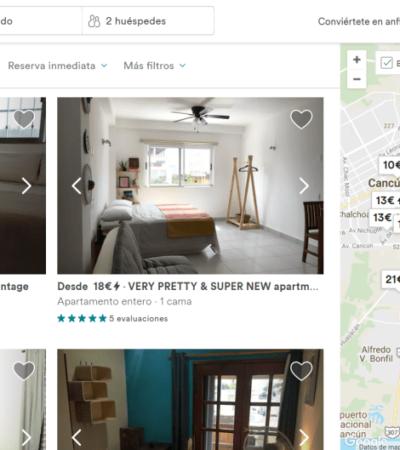 Ningún centro de hospedaje de Airbnb fue inscrito en el Registro Nacional de Turismo