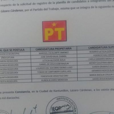 Por no acreditar residencia,  PAN impugnará a candidata petista en Lázaro Cárdenas