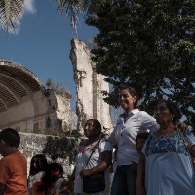 Dice Marybel Villegas que la gente ya está harta de los políticos que sólo prometen y que ganará las elecciones