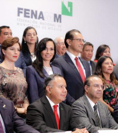 Laura Fernández asume presidencia adjunta en Federación Nacional de Municipios de México