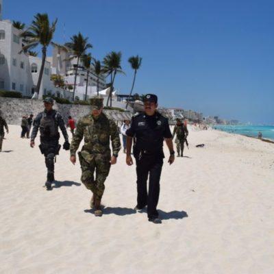 Tras balacera en playa de Zona Hotelera de Cancún, autoridades 'peinan' a concesionarios a lo largo de dos kilómetros… pero no hallan nada ilegal
