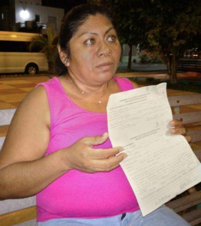 Uniper sigue sin pagarle heridas a mujer arrollada por combi