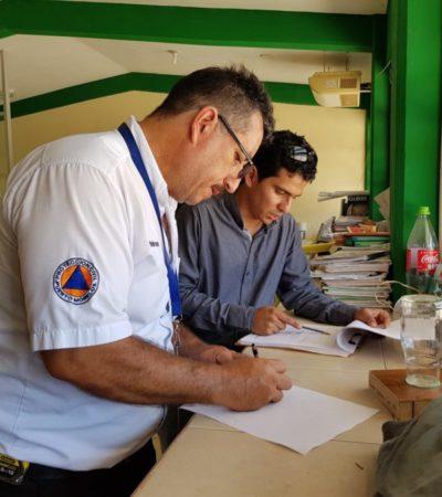 Verifican seguridad en los refugios anticiclónicos en Leona Vicario