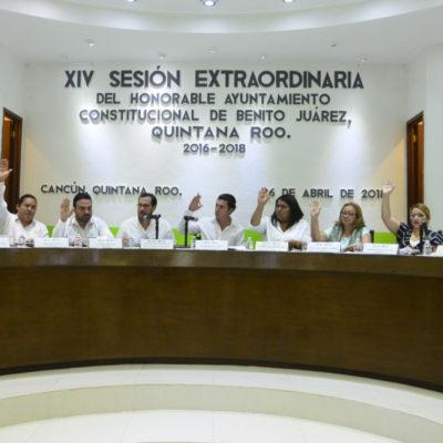 Cabildo de BJ realiza modificaciones a cuenta pública de Ejercicio Fiscal 2017