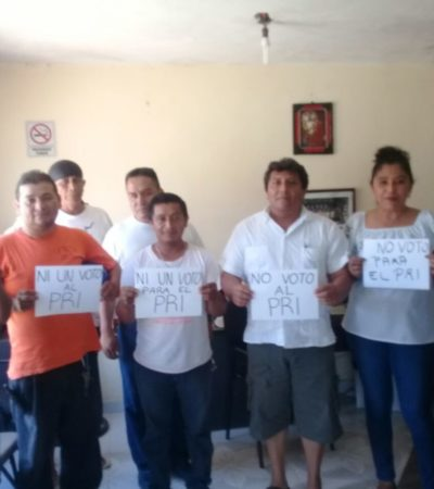 NUEVA REBELIÓN: CTM amenaza con no votar al PRI en Lázaro Cárdenas