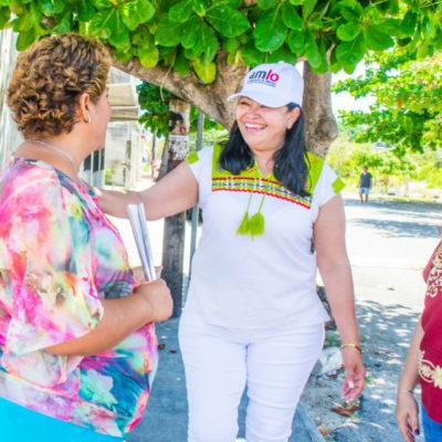 Mildred Ávila se comprometió en legislar a favor de la educación, valores y cultura de Quintana Roo