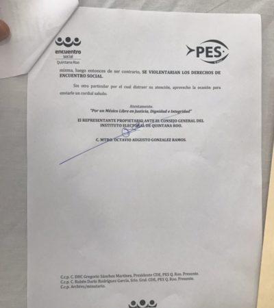 El PES persiste en su separación y asegura que luchará tanto en tribunales como en las calles para llevar candidatos propios