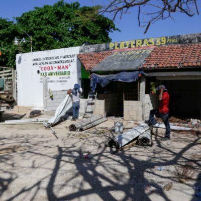 Los mercados municipales de Playa del Carmen son modernizados
