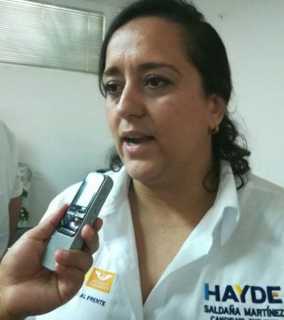 Si 'Chanito' quedó es porque la gente así lo quiere, dice Haydé Saldaña