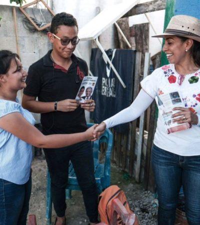 En Chetumal inicia el cambio propone Marybel Villegas