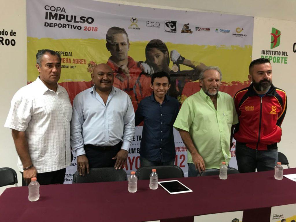 11 y 12 de mayo será el seminario de taekwondo en Cancún que impartirán Iridia Salazar y Gessler Viera Abreu