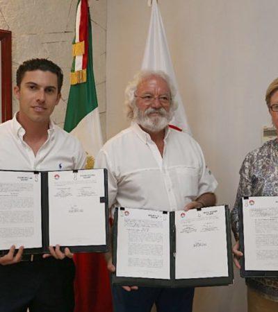 FIRMAN CONVENIO CON COMUNA: Xcaret, Xenses, Xel-ha y Xplor se abren a los cancunenses