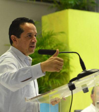 Dice Gobernador que se le hace 'caro' petición de 12.7 mdp del Ieqroo para realizar consulta Uber