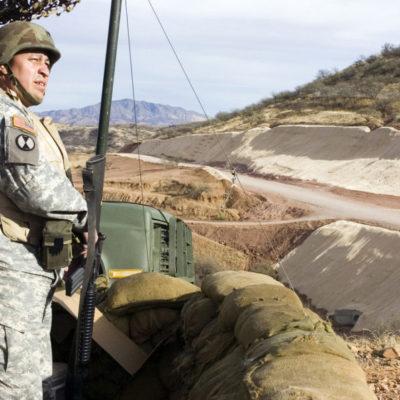 Trump ordena el envío de soldados de la guardia nacional a la frontera con México