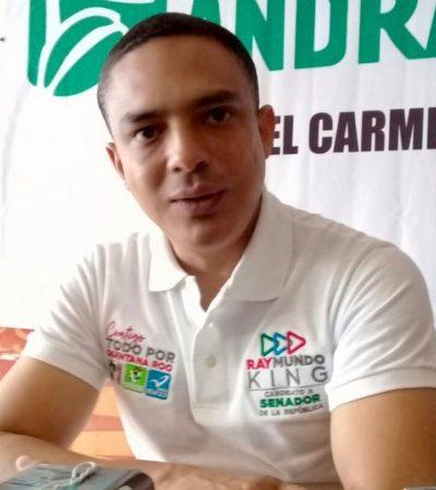 """La coalición PAN-PRD, acusa Raymundo King, se distingue  por """"hablar del pasado y vivir en el pasado"""""""