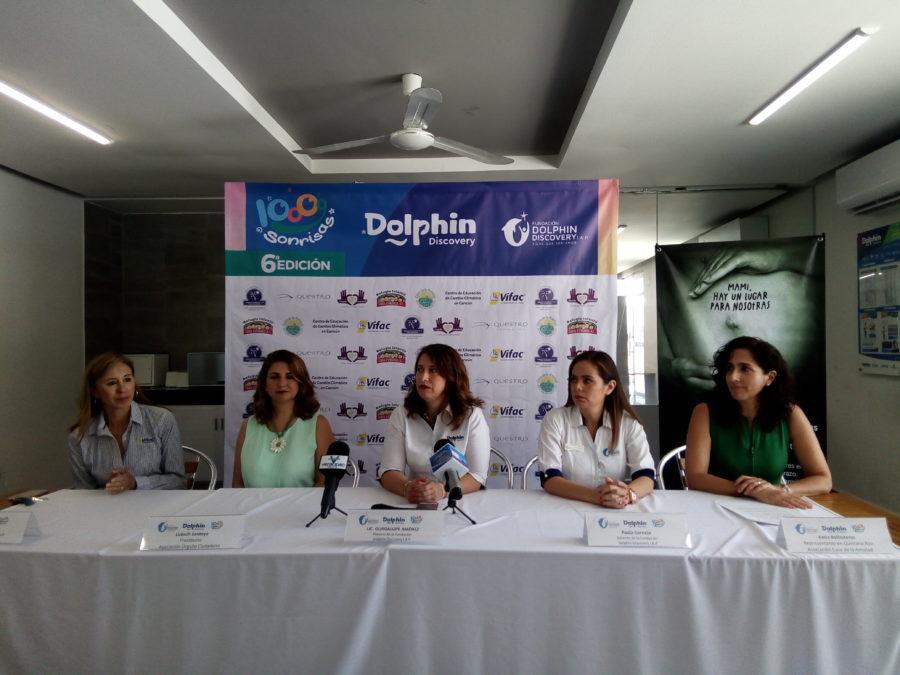 En la sexta edición de 10,000 sonrisas se podrá nadar con delfines a bajo costo y apoyar a asociaciones con diferentes causas sociales