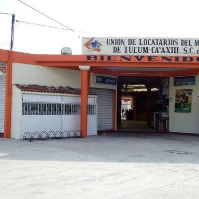 Carniceros, verduleros, zapateros, artesanos… Todos se quejan de las bajas ventas en mercados de Tulum