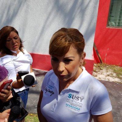 Susana Hurtado se considera candidata ciudadana