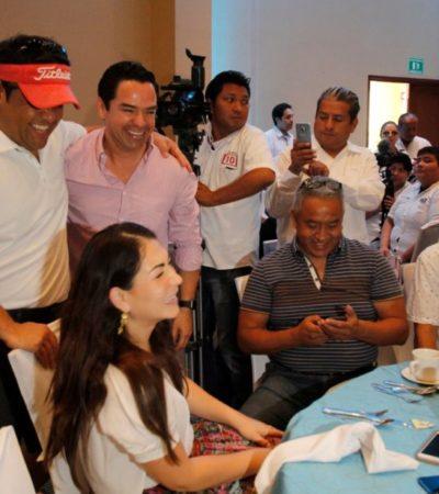"""""""SE NECESITA RECUPERAR LA PAZ"""": 'Chanito' lamenta inseguridad de Cancún y dice que hay amistad con Carlos Joaquín"""