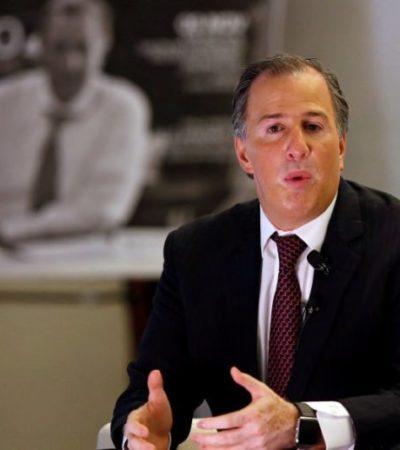 Ahora sí, Meade presentará el jueves su '3 de 3' lamentando que AMLO y Anaya rehúyan debate patrimonial
