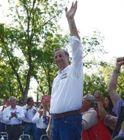 """Molesto, Meade rechaza que vaya a declinar en favor de Ricardo Anaya; """"estamos para ganar"""", insiste"""