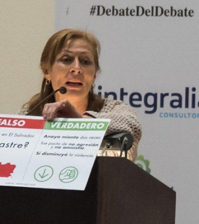 López Obrador sí irá a Tijuana para el segundo debate: Tatiana Clouthier