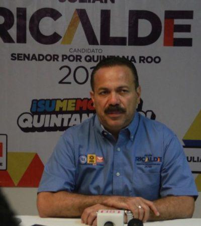 Más apoyo contra delincuencia organizada pide Julián Ricalde a la Federación