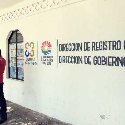 ESPECIAL | ANIVERSARIO DE CANCÚN | Tras 43 años de servicio, el Registro Civil de Benito Juárez ha expedido 350 mil actas de nacimiento