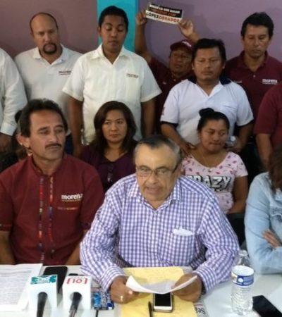 MORENISTAS, DE LA GREÑA EN CANCÚN: Ahora Raúl Arjona pide a Ieqroo rechazar candidatura de Mara Lezama por no cumplir procedimientos internos del partido de AMLO