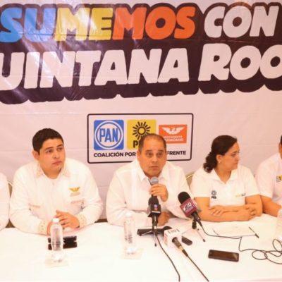 """""""TENEMOS QUE SER HUMILDES Y AUTOCRÍTICOS"""": Dicen candidatos de la coalición 'Por México al Frente' que mostrarán unidad y que no caerán en descalificaciones"""