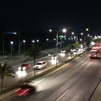 Avanza proyecto 'Kóokay' con 250 nuevas luminarias LED en Cancún