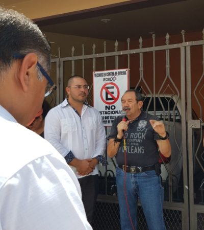 Oficinas del Ieqroo con jacuzzi generan protestas de vecinos de la Calle Virgo en Cancún