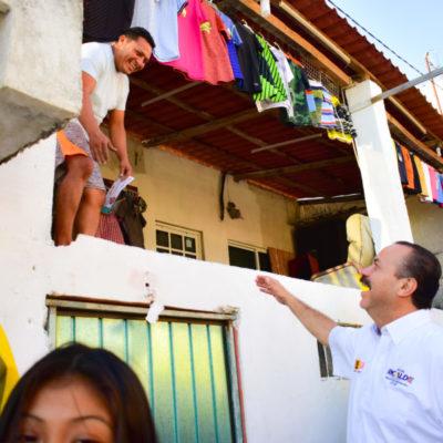 Julián Ricalde tramitará recursos específicos para zona continental de Isla Mujeres