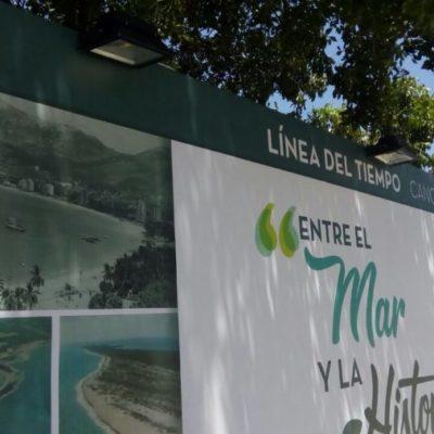 RESBALA EL AYUNTAMIENTO: Foto de Acapulco aparece en línea de tiempo ¡de Cancún!